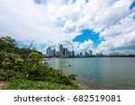 singapore   march 22  2017 ... | Shutterstock . vector #682519081