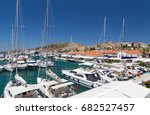 cesme  turkey   june 22  cesme... | Shutterstock . vector #682527457