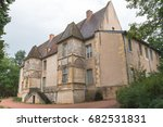 Small photo of Cluny abbey in France, Burgundy, abbatial palace