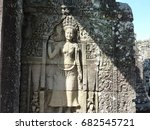 Bayon Of Angkor Remains Angkor...