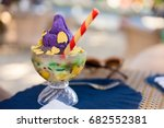 Famous halo halo or mixed iced...