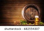 Oktoberfest Beer Barrel And...