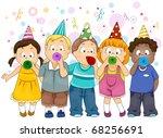 Illustration Of Kids...