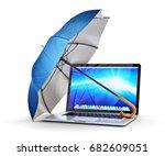 computer security  antivirus... | Shutterstock . vector #682609051