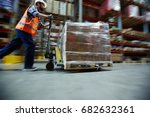 blurred motion shot of... | Shutterstock . vector #682632361