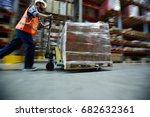 blurred motion shot of... | Shutterstock . vector #682632361