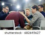attendants of psychological... | Shutterstock . vector #682645627