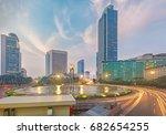 welcome monument bundaran hi... | Shutterstock . vector #682654255