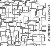 seamless pattern of overlapping ...   Shutterstock .eps vector #682664305