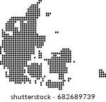 map of denmark | Shutterstock .eps vector #682689739