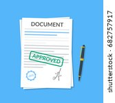 Approved Document With Stamp...