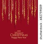 vector string lights | Shutterstock .eps vector #682759009