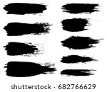 vector collection of artistic... | Shutterstock .eps vector #682766629