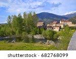 view on ponte leccia  corsica ... | Shutterstock . vector #682768099