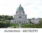 montreal  canada  july 22  2017 ... | Shutterstock . vector #682782595