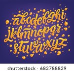 magic font   vector typeface  ... | Shutterstock .eps vector #682788829