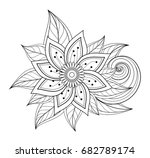 vector beautiful abstract... | Shutterstock .eps vector #682789174