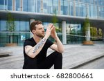urban lifestyle picture of... | Shutterstock . vector #682800661