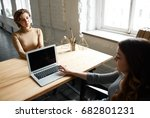 candid shot of female chief... | Shutterstock . vector #682801231