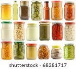 Preserved Vegetables And Food...