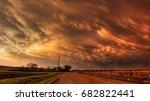 Mammatus Clouds Near Dusk...