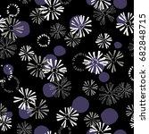irregular form pattern | Shutterstock .eps vector #682848715
