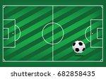 a realistic textured grass... | Shutterstock .eps vector #682858435