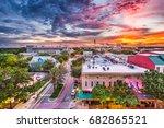 gainesville  florida  usa... | Shutterstock . vector #682865521