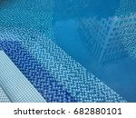 swimmingly pool pool patterm...   Shutterstock . vector #682880101