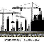 vector illustration of... | Shutterstock .eps vector #682889569