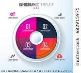 infographics design template...   Shutterstock .eps vector #682915975