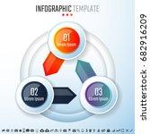 infographics design template...   Shutterstock .eps vector #682916209