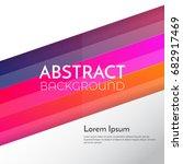 abstract background design...   Shutterstock .eps vector #682917469