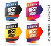 sale banner design template... | Shutterstock .eps vector #682917475