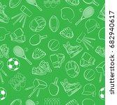 vector illustration color sport ... | Shutterstock .eps vector #682940617