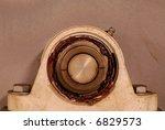 Industrial Machine Bearing - stock photo