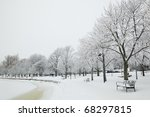 beautiful winter scenery from... | Shutterstock . vector #68297815