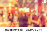 abstract blur image of shopping ... | Shutterstock . vector #682978249