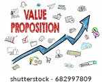 value proposition  business... | Shutterstock . vector #682997809