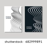 minimal covers design set.... | Shutterstock .eps vector #682999891