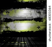 urban grunge wall military... | Shutterstock . vector #68301064