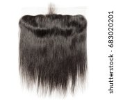 straight black virgin human...   Shutterstock . vector #683020201
