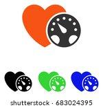 blood pressure meter vector... | Shutterstock .eps vector #683024395