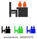 apothecary table vector...   Shutterstock .eps vector #683025379