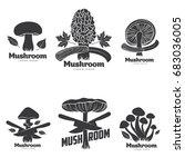 Mushroom Logo Templates For...