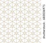 geometric pattern | Shutterstock .eps vector #683036971