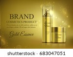 a beautiful cosmetic templates... | Shutterstock .eps vector #683047051