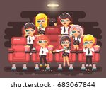 stock vector illustration... | Shutterstock .eps vector #683067844