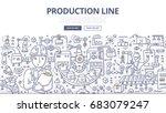 doodle vector illustration of... | Shutterstock .eps vector #683079247