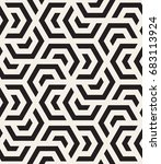 vector seamless pattern. modern ... | Shutterstock .eps vector #683113924